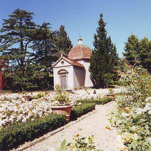 Villa del ferrale opere e progetti lassi e pisacreta - Giardino all italiana ...